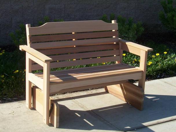 glider bench - Glider Bench